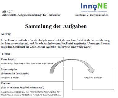 Die INE-Toolbox – Ein integratives Instrumentarium für ...